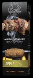 Bradley BBQ aromabisquetten (12 stuks)