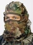 Camouflage hoofdnet
