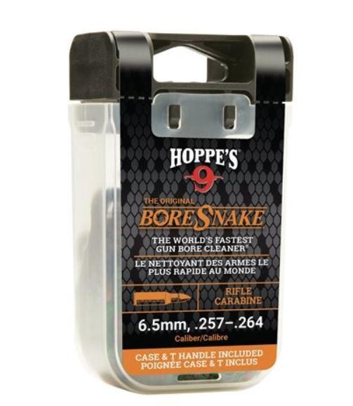Hoppe`s BoreSnake Den loopreiniger voor hagel of kogel geweer met t-handle
