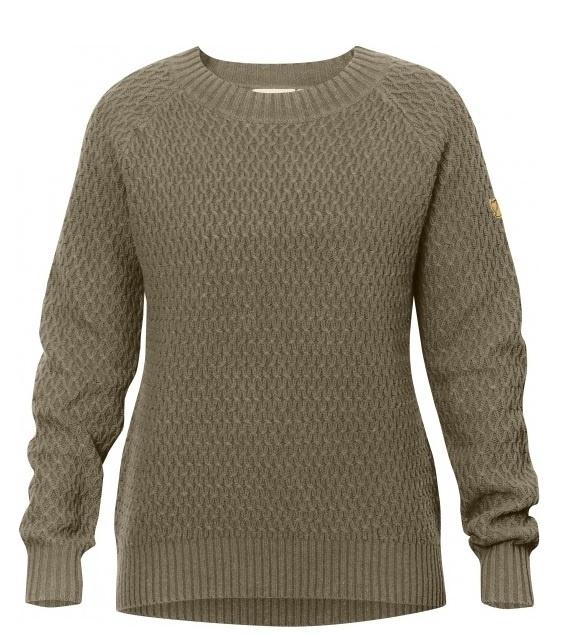 Fjällräven Sörmland roundneck sweater dames | Damesvesten en