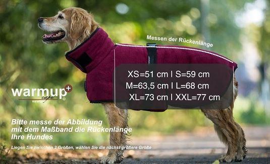 Warm Up honden Cape Pro fleece en badstof | Hondenvesten en