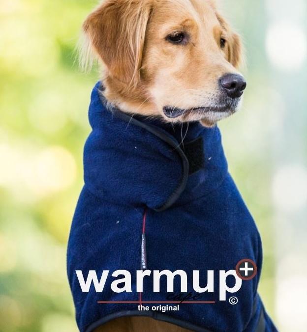 Warm Up honden Cape Plus fleece en badstof | Hondenvesten en
