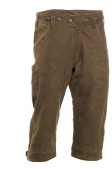 Deerhunter Strasbourg leather breeks / knickerbocker