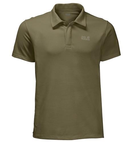 Jack Wolfskin Three Towers heren polo shirt