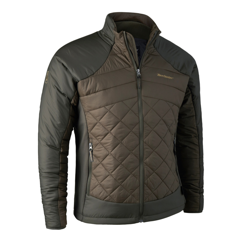 Deerhunter Quilted Jacket Dark Elm herenjack