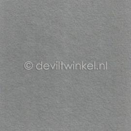 Wolvilt 3 mm, Grijs, 22 bij 30 cm