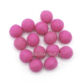 Wolkralen: Roze 2 cm