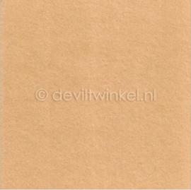 Wolvilt Huidskleur -  90 bij 100 cm