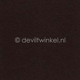 Wolvilt ( 1mm dik) Donkerbruin - 60 bij 75 cm.