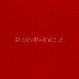 Wolvilt (1 mm dik) Rood - 45 bij 45 centimeter
