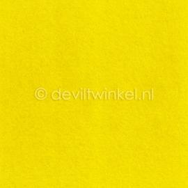Wolvilt Geel, 2 mm, 183 bij 100 cm