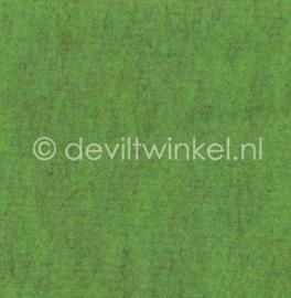 Wolvilt Gemêleerd Groen - 45 bij 90 centimeter