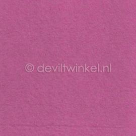 Wolvilt Oud Roze 20 bij 30 cm.