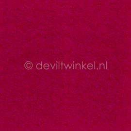 Wolvilt Framboos Roze 45 bij 90 centimeter
