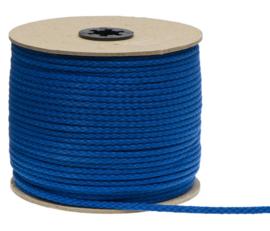 Katoenen Koord, Kobalt blauw, 5 mm