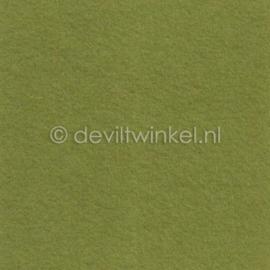 Wolvilt Mosgroen, 3 mm, 183 bij 100 cm