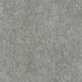 Wolvilt 3 mm, Grijs Gemêleerd, 22 bij 30 cm