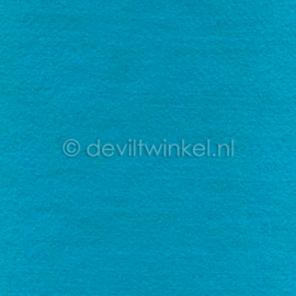 Wolvilt Aqua, 2 mm, 183 bij 100 cm
