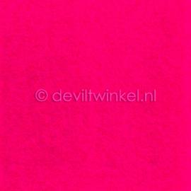 Wolvilt Fel Roze, 45 cm breed, per halve meter.