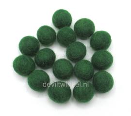 Wolkralen: Donker Groen 2,2 cm