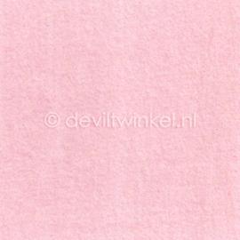 Wolvilt Licht Roze 20 bij 30 cm.