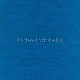Wolvilt Donker Aqua, 2 mm, 183 bij 100 cm