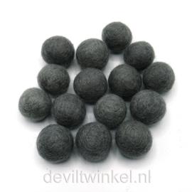 Wolkralen: Donkergrijs 2,2 cm