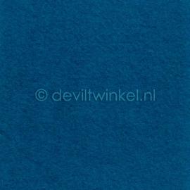 Wolvilt Donker Aqua - 45 bij 90 centimeter
