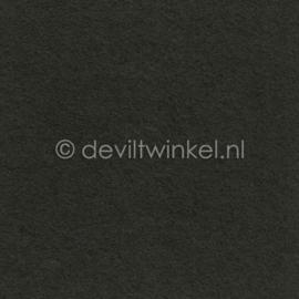 Wolvilt Donker Grijs, 3 mm, 183 bij 100 cm