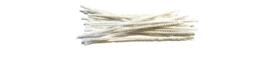 Pijpenragers, 17 cm, 10 stuks, Ecru
