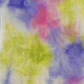 Sprookjesvilt Voorjaars groen/paars/roze (SV094)