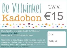 Kadobon €15