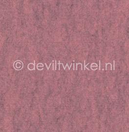Wolvilt Gemêleerd Roze -  90 bij 100 cm
