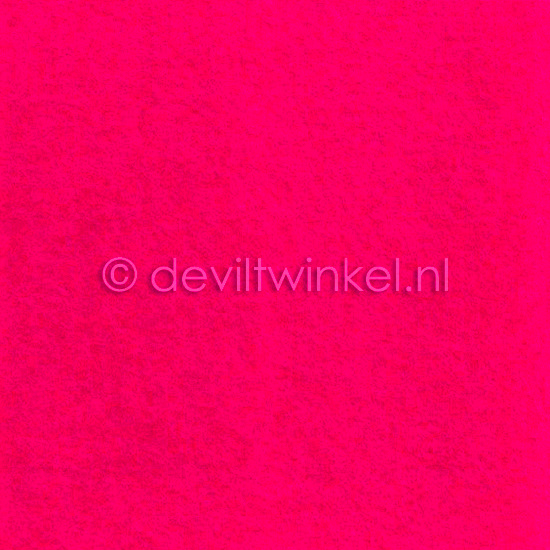 Wolvilt Fel Roze 20 bij 30 cm.