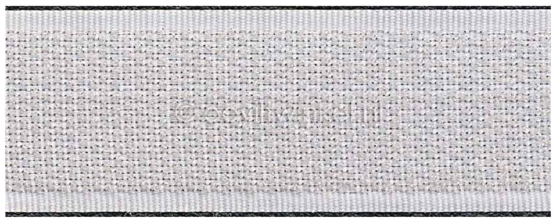 Klittenband 25mm wit (per 50 cm)