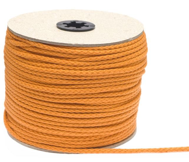 Katoenen Koord, Oranje, 5 mm