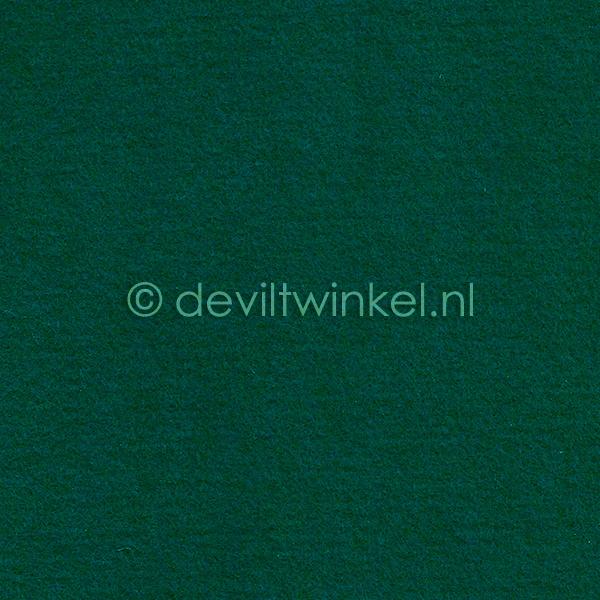 Wolvilt Smaragdgroen - 45 bij 90 centimeter