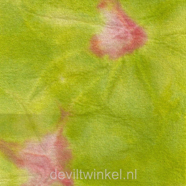 Sprookjesvilt Groen met roze (SV118)