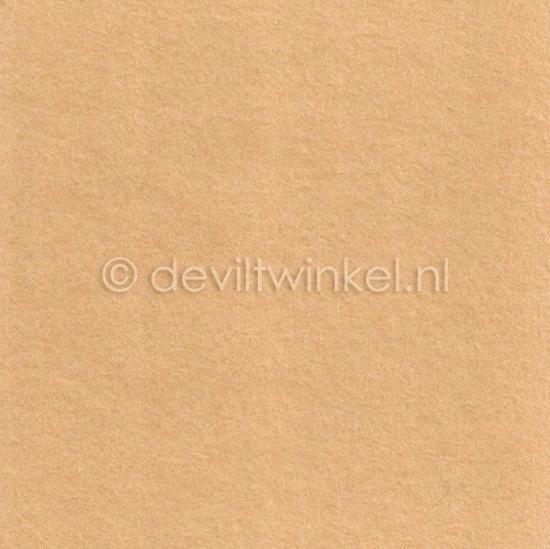 Wolvilt Huidskleur 45 bij 90 centimeter