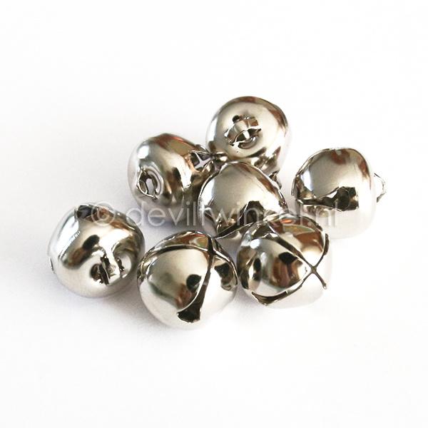 Belletje zilverkleurig 19 mm
