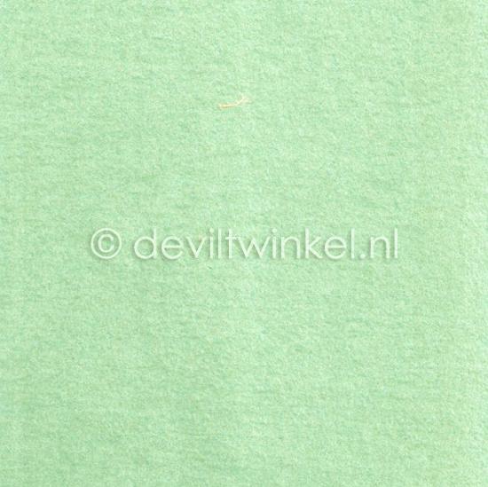 Wolvilt Fresh Mint 20 bij 30 cm.
