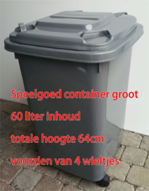 speelgoed container recycle
