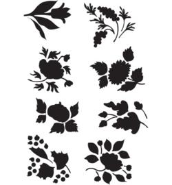Sjabloon bloemen