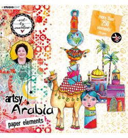 Art By Marlene Die Cut Block Artsy Arabia, nr.01