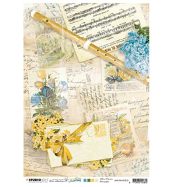 JMA Rice paper Flute, sheet music, notes New Awakening nr.02