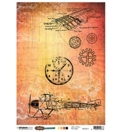 Just Lou - Rice Paper - Aviation Collection - nr.15
