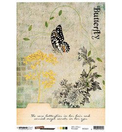 JL Rice Paper Butterfly Collection nr.21