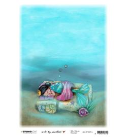 Rice Paper Deep sleep So-Fish-Ticated nr.14