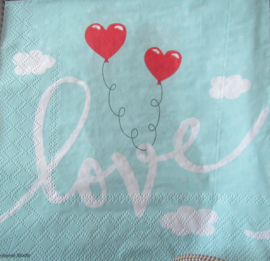 Love balloons mint nr168
