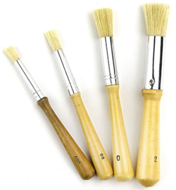 Stenciling Brushes: assorted sizes